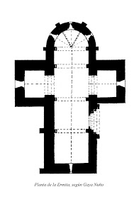 Plano de La Ermita de San Bartolomé