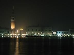 The Campanile and Palazzo Ducale from San Giorgio Maggiore, 5:06am