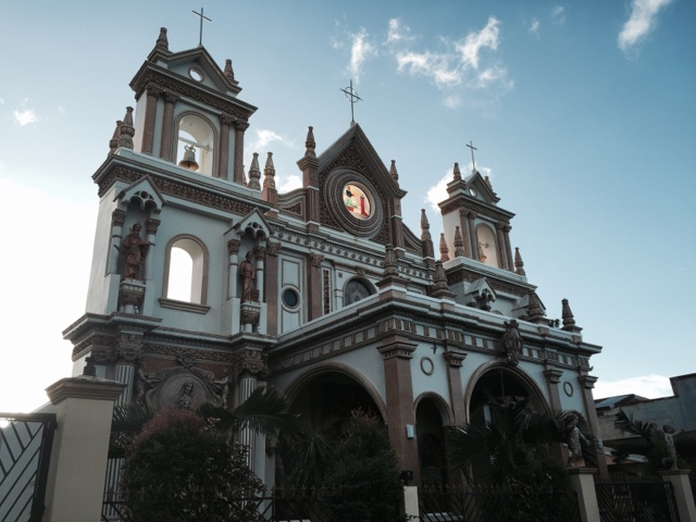 Beautiful Church in Almeria, Biliran