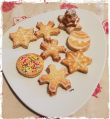 biscotti alla panna decorati