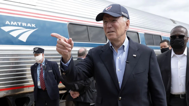 Biden's Latest Tall Tale, This One About Amtrak, Just Doesn't Add Up