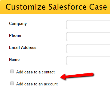 123FormBuilder SalesForce Case