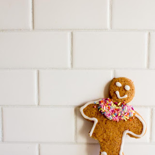 Whole Wheat Gingerbread Cut-Out Cookies.