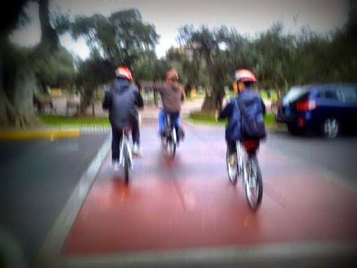リマでサイクリング