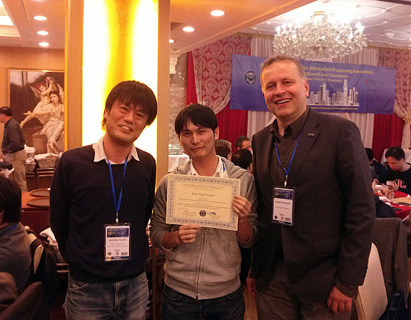 APSIPA ASC 2015 Best Paper Award