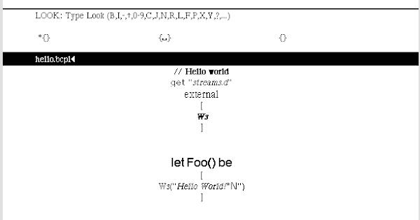 The Bravo editor provides WYSIWYG formatting of text.