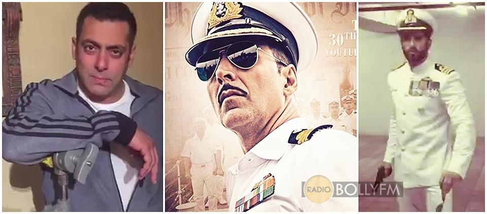 Salman Khan, Ranveer Singh, Akshay Kumar Rustom