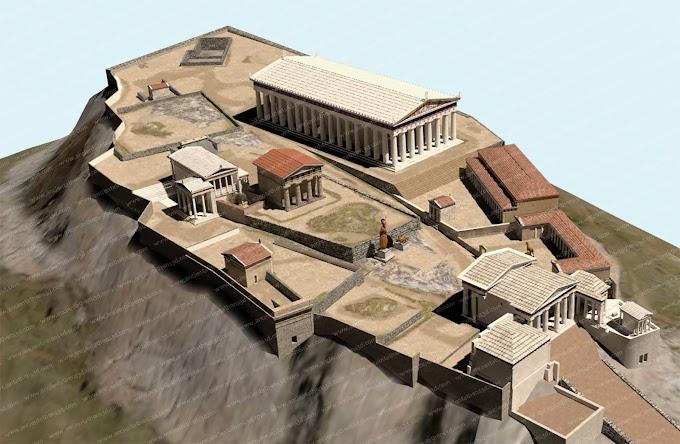 Ενδιαφέρουσες παρατηρήσεις επί των κατασκευών της Ακροπόλεως των Αθηναίων .