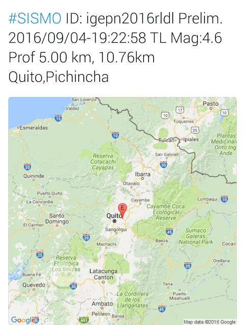 temblor quito ecuador