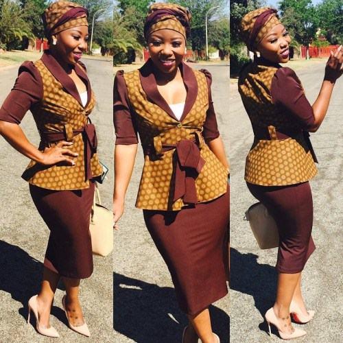 Shweshwe Trends Dresses Fashion 2018