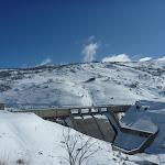 Guthega Dam and spillway (299242)