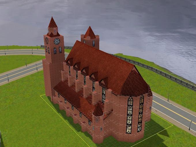 sims 3 medieval kirche