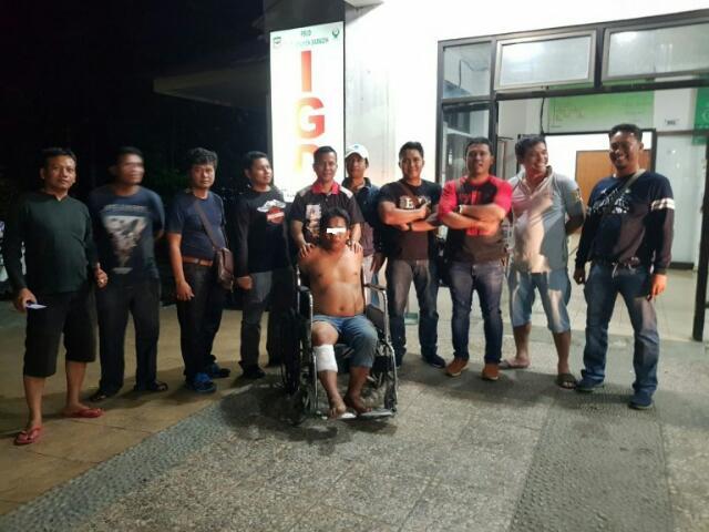 Buronan, Pelaku Pencurian dengan Kekerasan Di Dor Polisi
