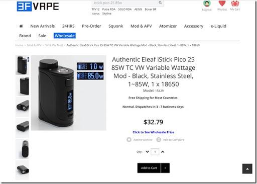 FullSizeRender 8 thumb3 - 【TIPS】海外通販生活#07 電子タバコ/VAPE通販サイト3FVAPEの登録と購入方法を解説【海外通販が初めての方も安心!超簡単、これであなたも海外通販デビュー!!】