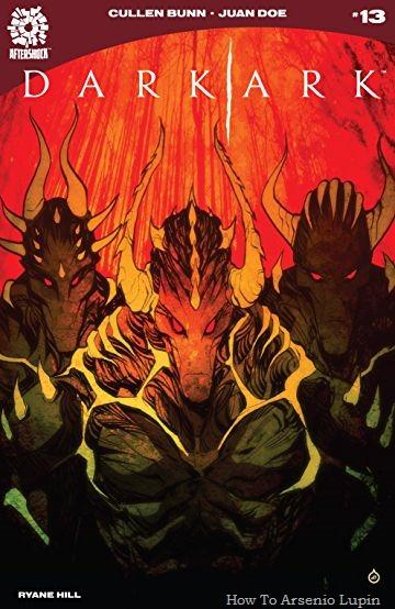 Actualización 28/01/2019: Floyd Wayne y W.D comparten con nosotros el numero 13 del Arca Oscura. El arca ha desembarcado. Shrae lucha por mantener el orden entre las bestias. Ahora que no confían en el hechicero para sobrevivir, muchos de los monstruos tienen planes de matar a Shrae y su familia. Una revelación impactante puede unir a los monstruos una vez más. De alguna manera, no son las primeras criaturas para poner un pie en la isla.