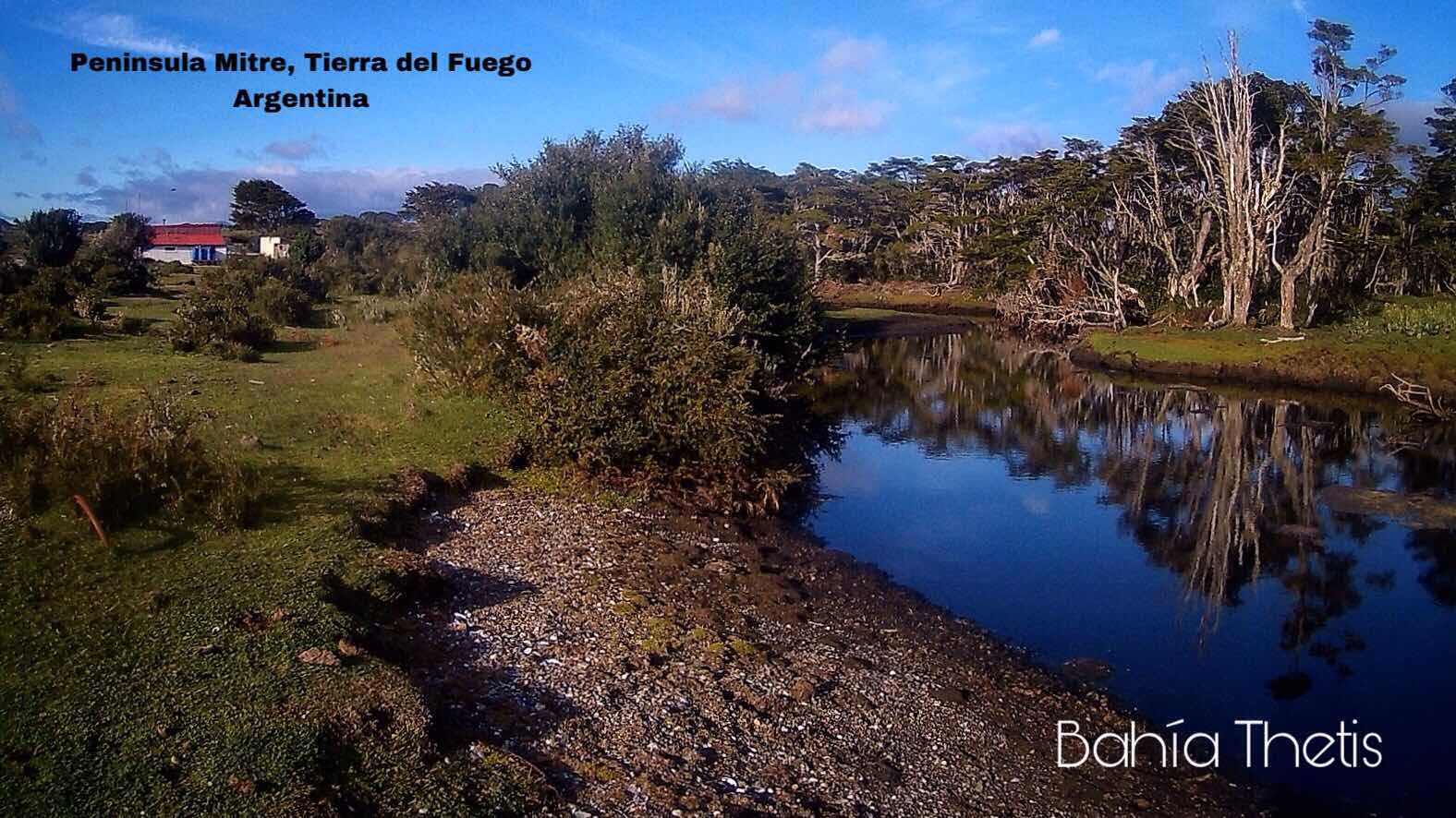 Bahía Thetis, Peninsula Mitre