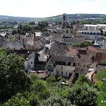 Ancien château : vue vers l'église Saint-Crépin