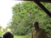 Az egykori gyümölcsös Tiszakert történetéről beszél Farkas Barnabás.jpg