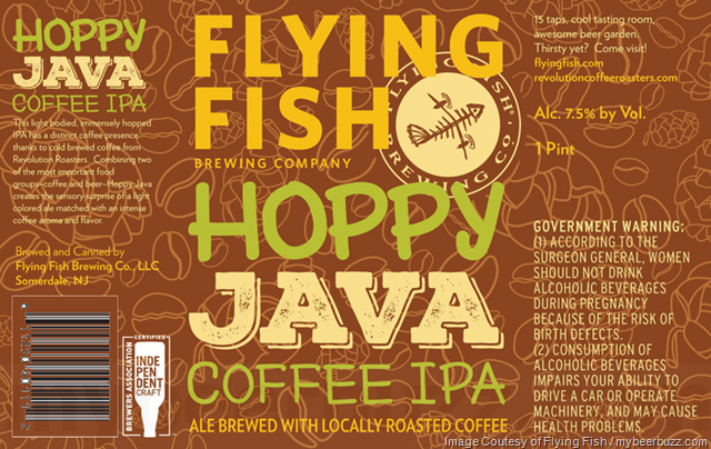 Flying Fish - Hoppy Java Coffee IPA Cans
