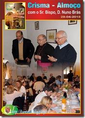 Almoco com D. Nuno Brasl - 29.04.18