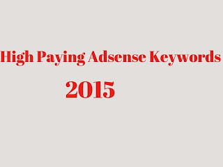 High paying high cpc adsense keywords