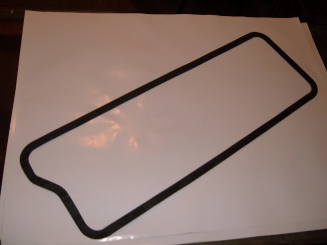 Valley cover gaskets, #VP-A 1953-56 16.00 and VP-B 1957-66 14.00