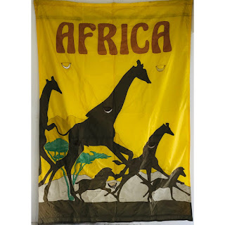 Africa Vintage Circus Banner