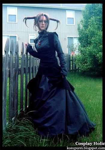 witch hunter robin cosplay - sena robin