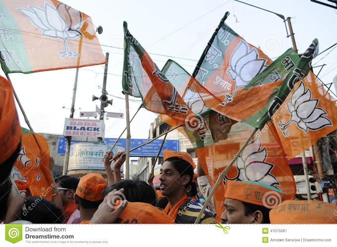 BJP का बड़ा जश्न - बिहार में जीत