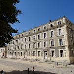 Château de Vincennes : cour intérieure
