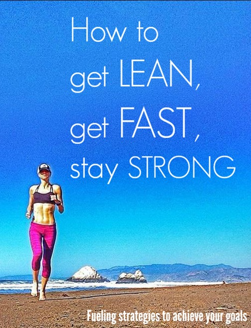 How to get lean, get fast and stay strong during training