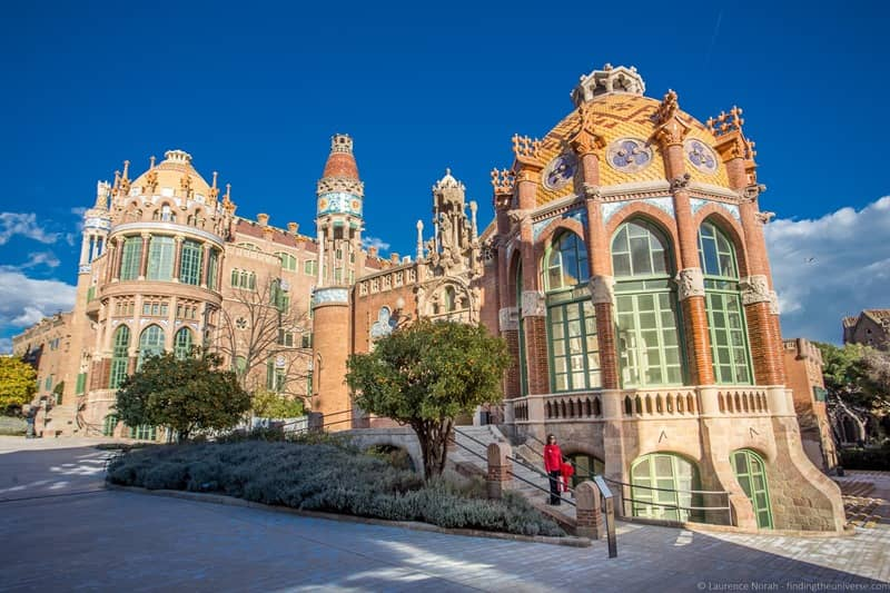 Recinte Modernista Sant Pau Barcelona
