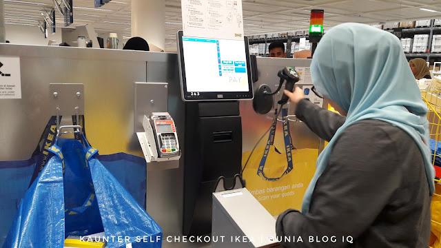 Ikea Cheras Dah Ada Kaunter Self-Checkout?