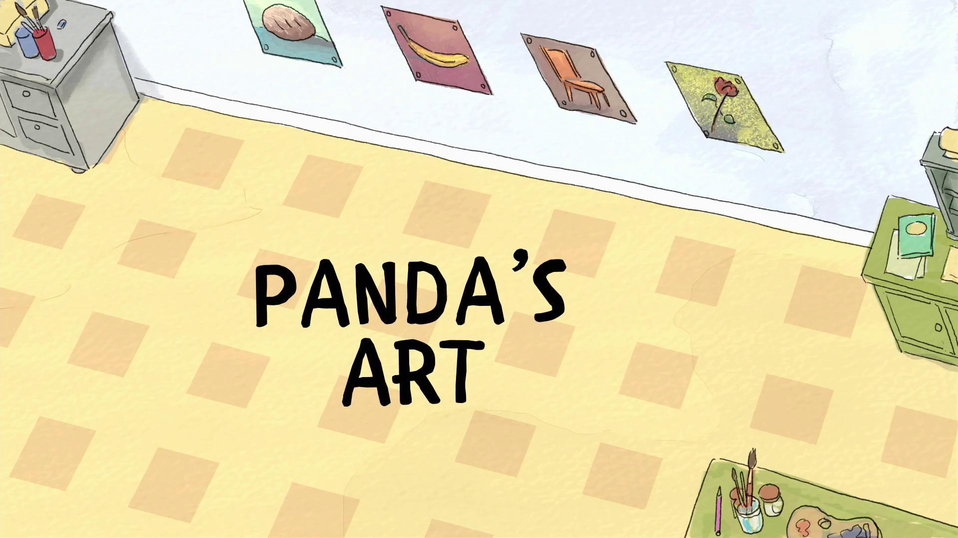 Ursos sem Curso - O Quadro do Panda