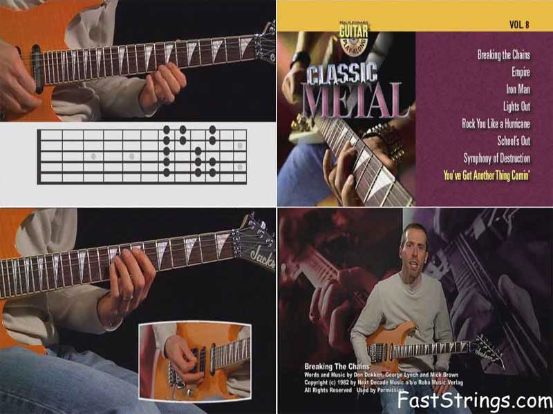 Guitar Play-Along Vol. 8 - Classic Metal