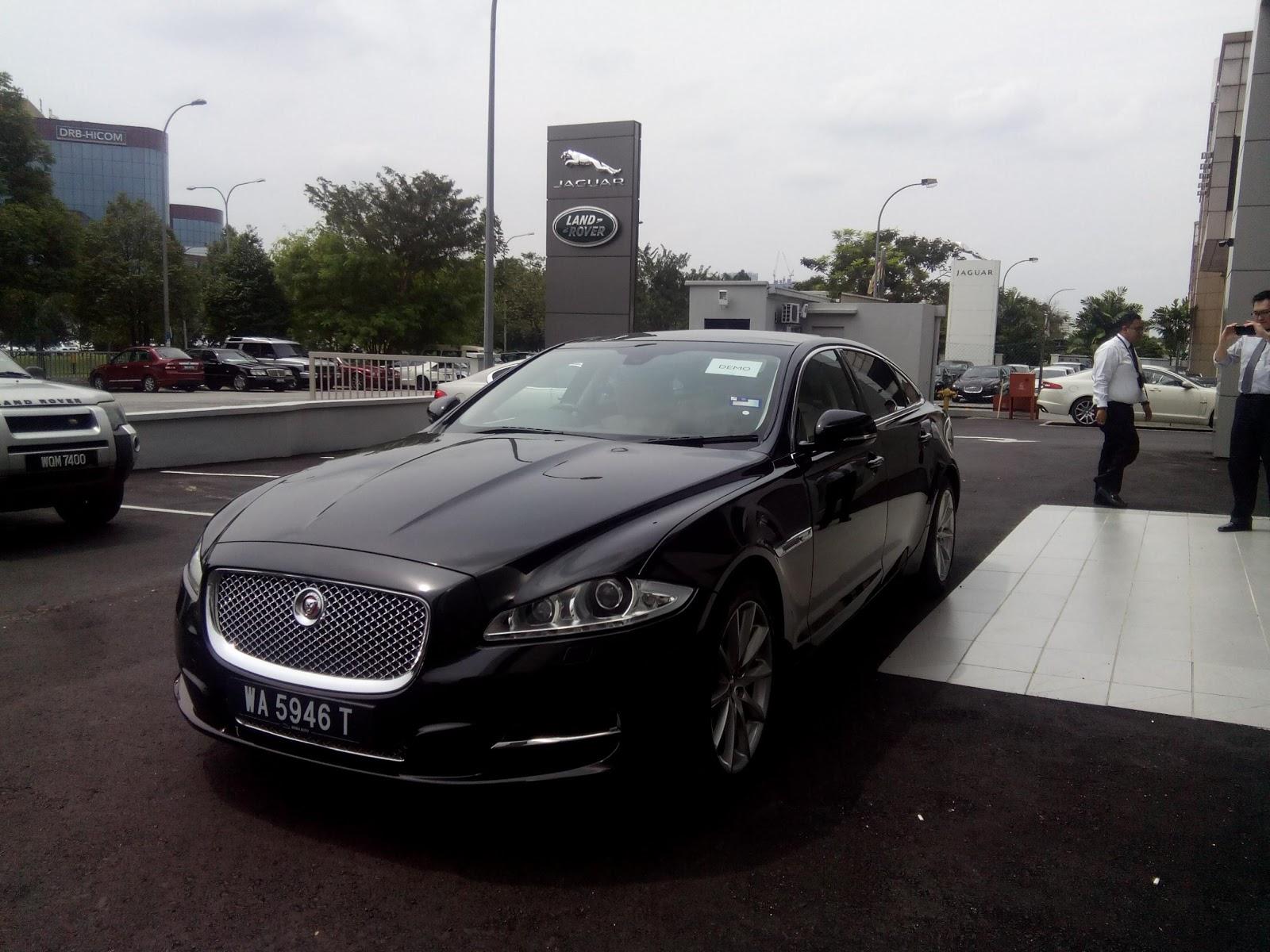 motoring-malaysia: short drive: the jaguar xjl 2.0 ti - if i somehow