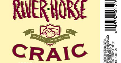 River Horse Craic Stout Aged In Jameson Whiskey Casks Mybeerbuzz