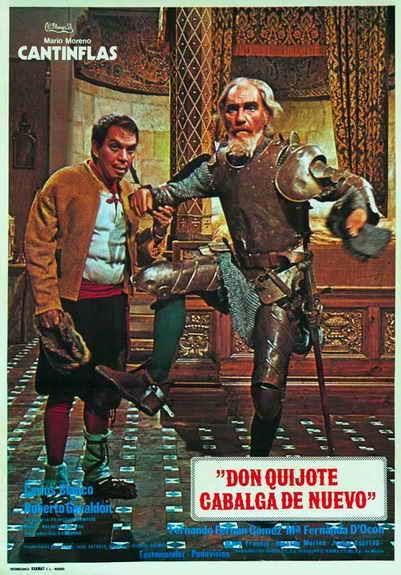 Resultado de imagen para Mario Moreno - Cantinflas Don Quijote cabalga de nuevo