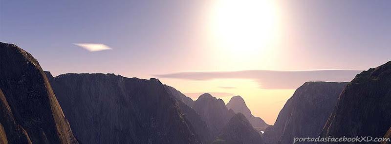 Un paisaje, lindo atardecer,montañas, para ponerlo en tu portada de la biografia en tu facebook