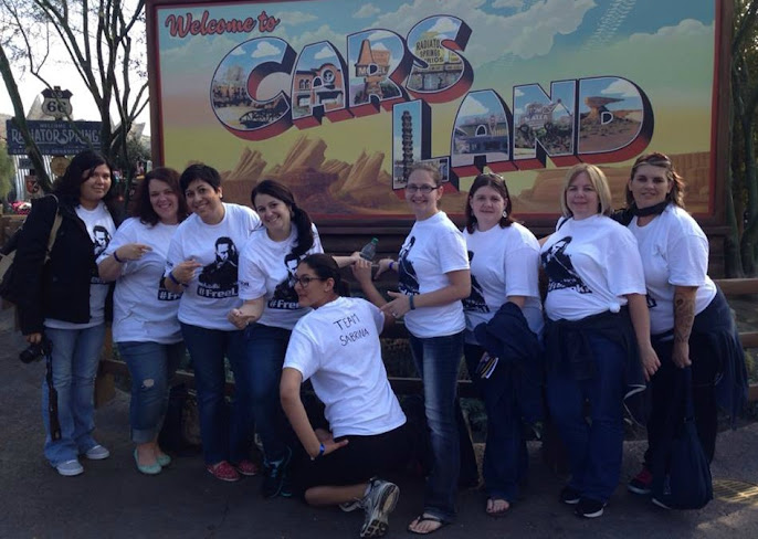 Team Sabrina Visits Cars Land at California Adventures #ThorDarkWorldEvent