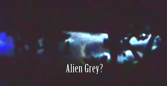 You can see the Alien in the Flying Saucer.