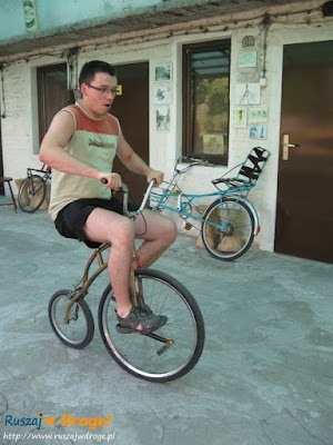 muzeum nietypowych rowerów Gołąb