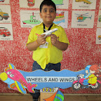 Show and Tell activity (Sr.KG.) 31-8-2015