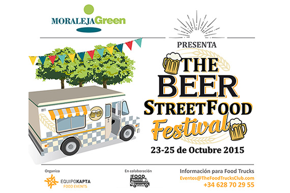 The Beer Street Food Festival, 23, 24 y 25 de octubre en Moraleja Green