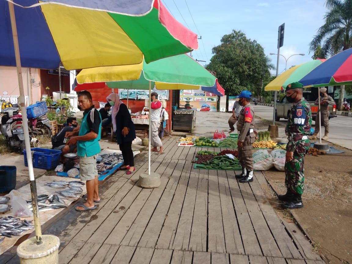 Tim Terpadu Kabupaten Kukar Gencar patroli Kesehatan di Keramaian Umum
