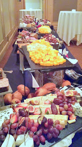 Just part of the Charcuterie and Cheese spread at the Heathman for the 2015 Beaujolais Nouveau