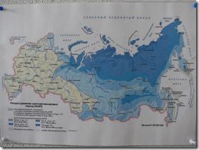 carte du permafrost
