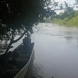 Retour de Crique Tortue vers Saut Athanase (Guyane). 22 novembre 2011. Photo : J.-M. Gayman