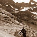 sullo sfondo Ref.Glacier Blanc e l