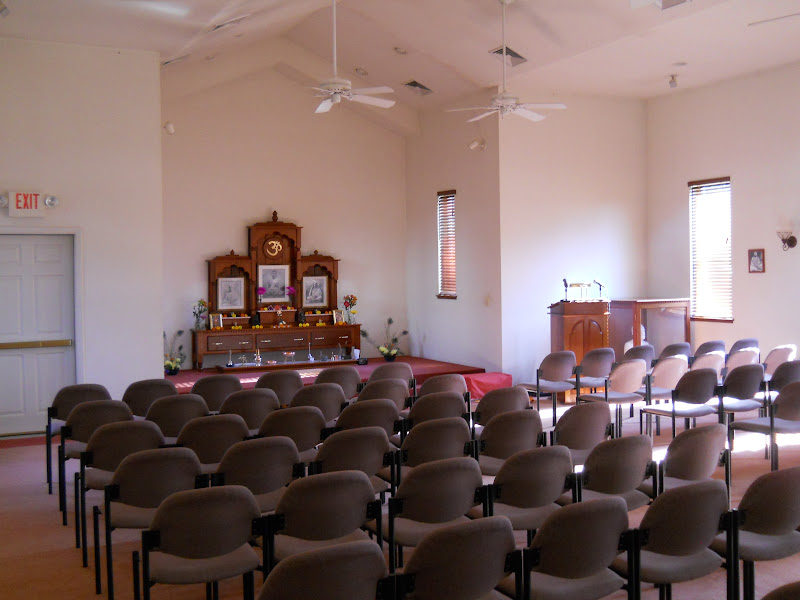 Our current temple seats about 100
